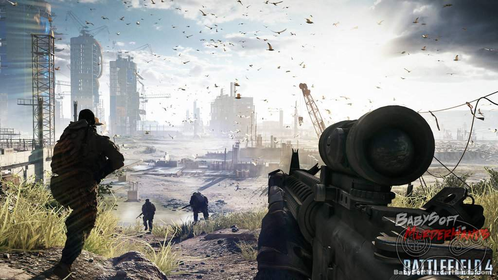 Leaked Battlefield 4 screenshots EA DICE 2