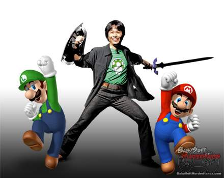 Mario Luigi Shigeru Miyamoto lol