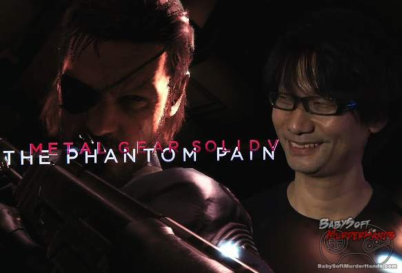 Metal Gear Solid 5 The Phantom Pain Kojima interview