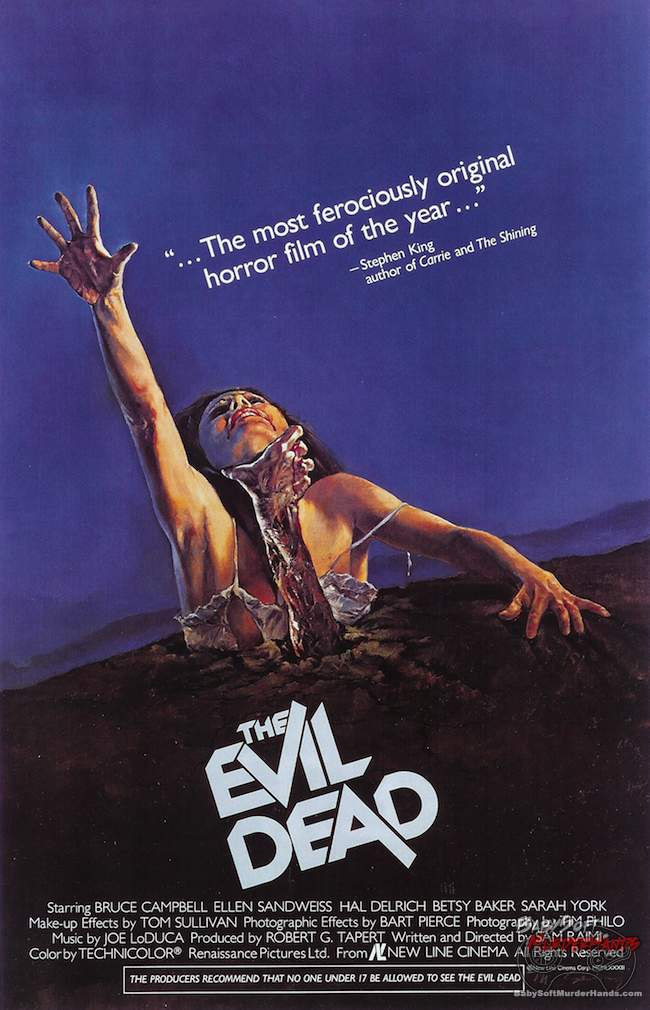Movies For Gamers The Evil Dead 1981 poster