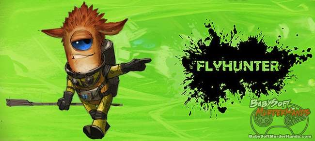 New game FlyHunter steel wool games Pixar 2013 logo