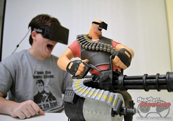 Oculus Rift Palmer Luckey VR Team Fortress 2 Hat Valve