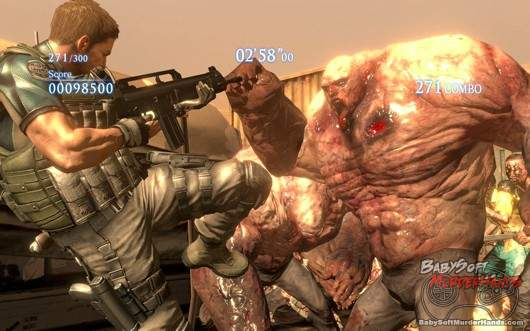 Resident Evil 6 x Left 4 Dead 2 Chris Redfield RE6 x L4D2 announced