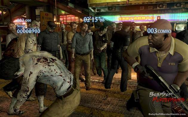 Resident Evil 6 x Left 4 Dead 2 Coach RE6 x L4D2 announced