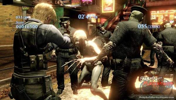 Resident Evil 6 x Left 4 Dead 2 Leon S. Kennedy RE6 x L4D2 announced