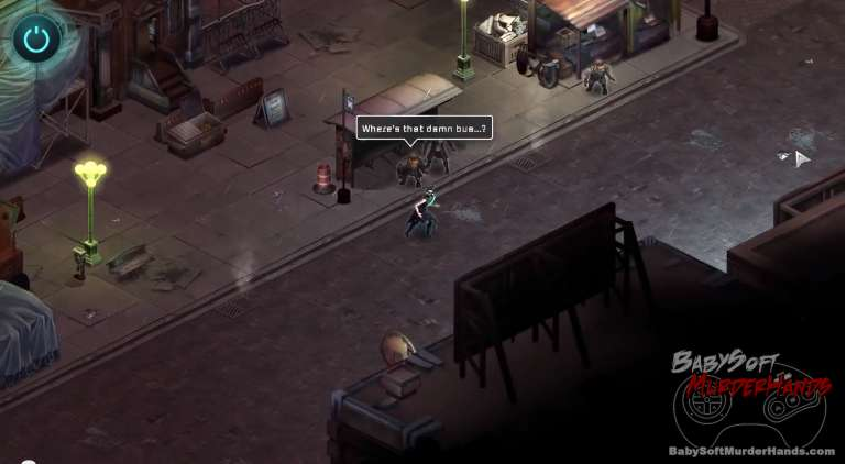 Shadowrun Returns gameplay screenshot 1