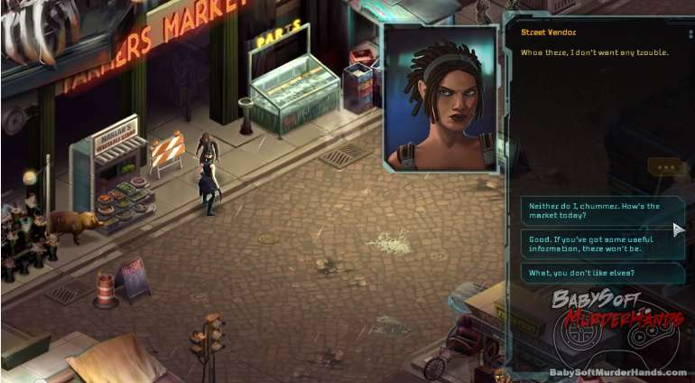 Shadowrun Returns gameplay screenshot 2