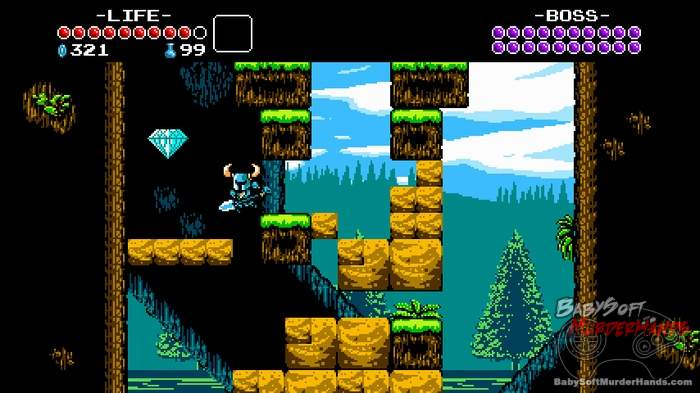 Shovel Knight pumps up 8-Bit retro gameplay 3