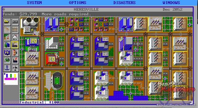 SimCity DOS review 1