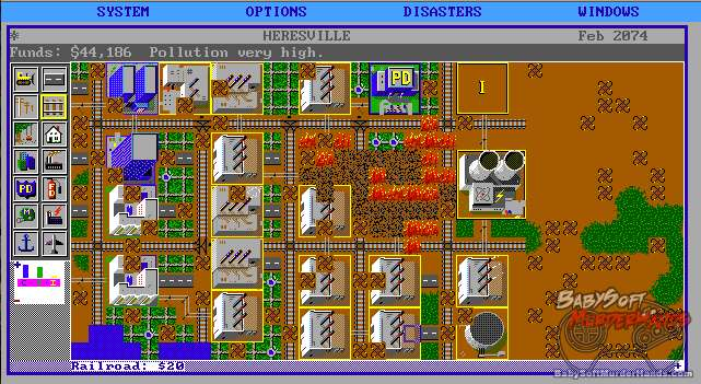 SimCity DOS review 2