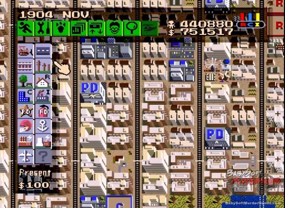 watch this high speed video show the creation of a u201cmegaropolis u201d in rh babysoftmurderhands com SimCity 2000 SimCity Snes Rom