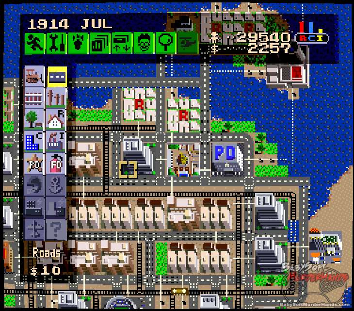 SimCity SNES review