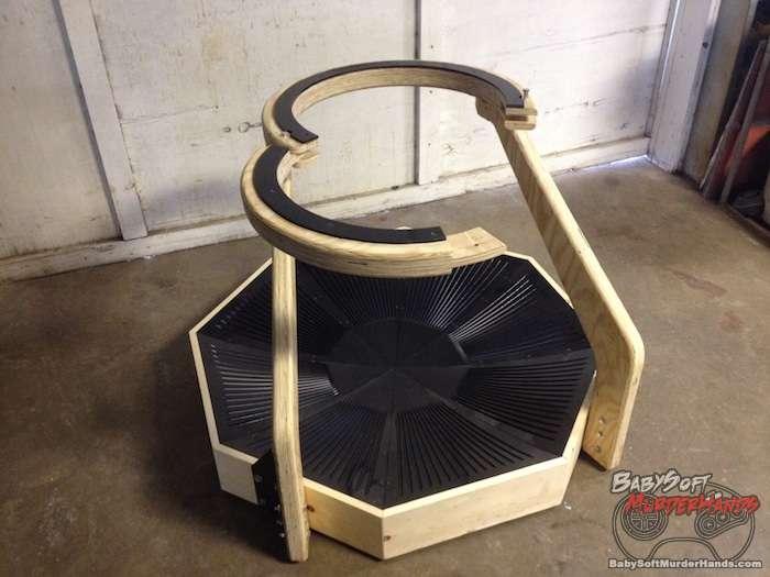 Virtuix Omni VR treadmill prototype