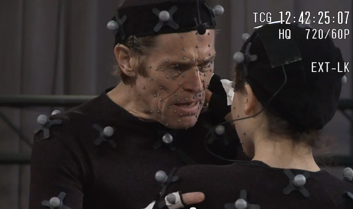 Willem Dafoe in Beyond Two Souls PS3 Quantic Dreams 1