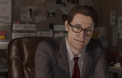 Willem Dafoe in Beyond Two Souls PS3 Quantic Dreams 2