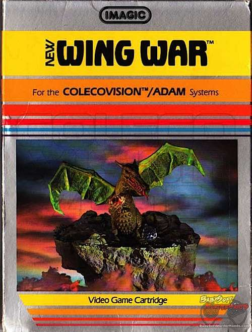 Wing War Colecovision cover art