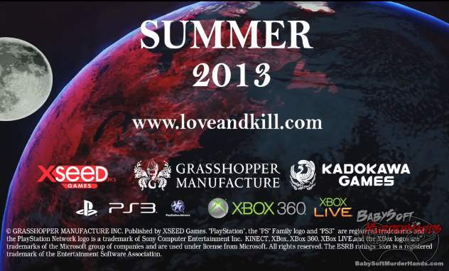 Xseed english trailer Suda 51 Killer Is Dead
