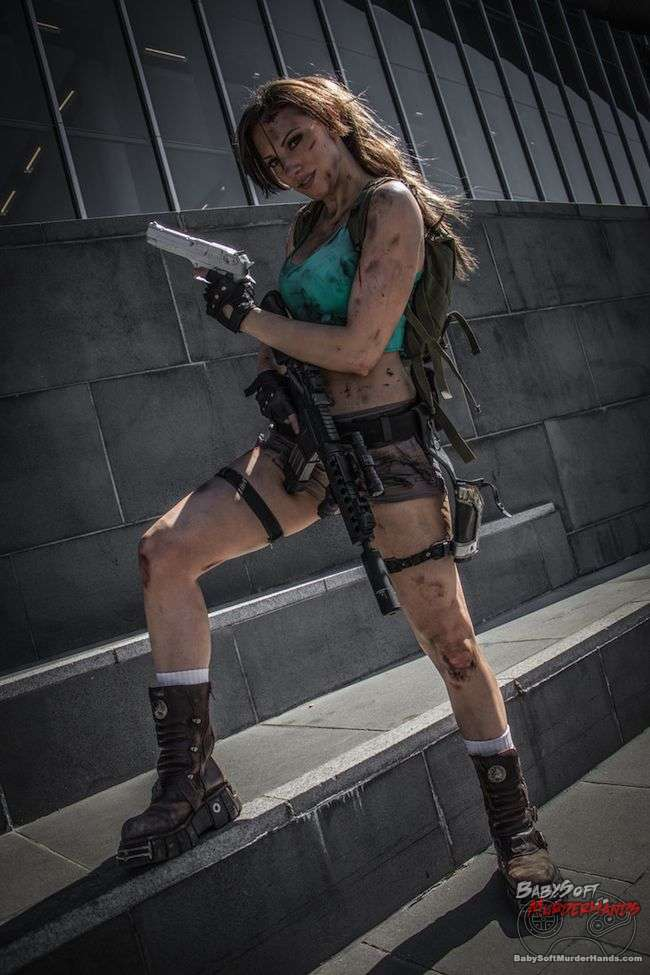 lara croft tomb raider III Cosplay