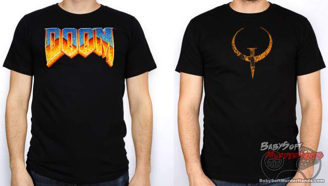 official Quake Doom Shirt Bethesda online store