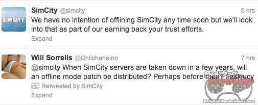 simcity offline patch