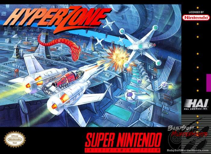 snes hyperzone cover art box art