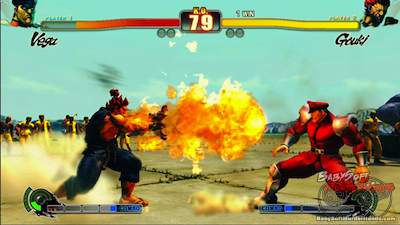 street fighter iv capcom