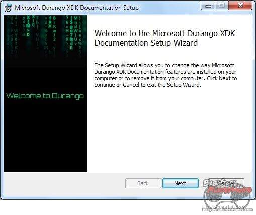 xdk Xbox Durango SDK documentation 1
