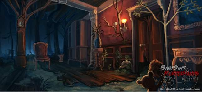 Among The Sleep production artwork Krillbite 2