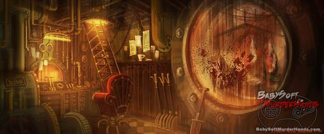Concept art Amnesia- A Machine For Pigs