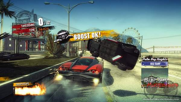 Criterion Games Burnout Paradise