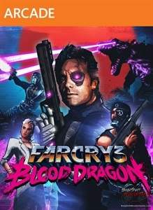 Far Cry 3 Blood Dragon art 1