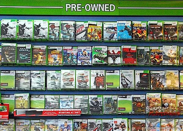 GameStop CEO Next Xbox Durango block used games
