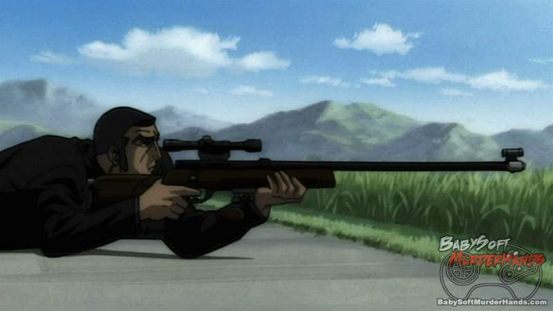 Golgo 13 The Professional screen