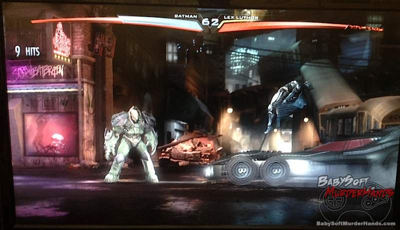 Injustice Gods Among Us screenshot 1