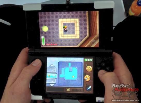 Legend of Zelda Link to the Past 2 3DS gameplay
