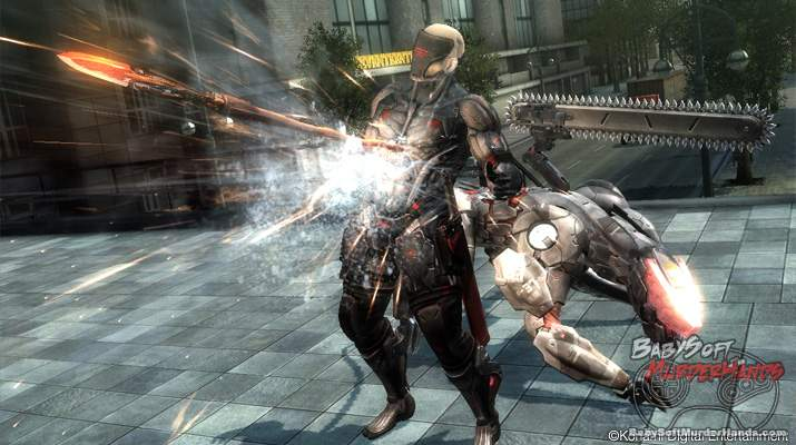 Metal Gear Rising Blade Wolf DLC screenshot 2