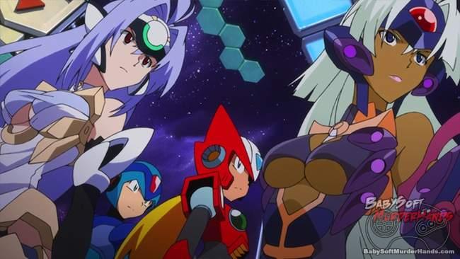 Namco Bandai Capcom Sega Project X Zone Xenosaga Megaman x