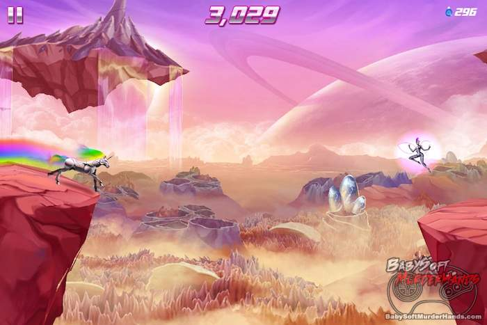 Rainbow Unicorn Attack 2 review screenshot 1