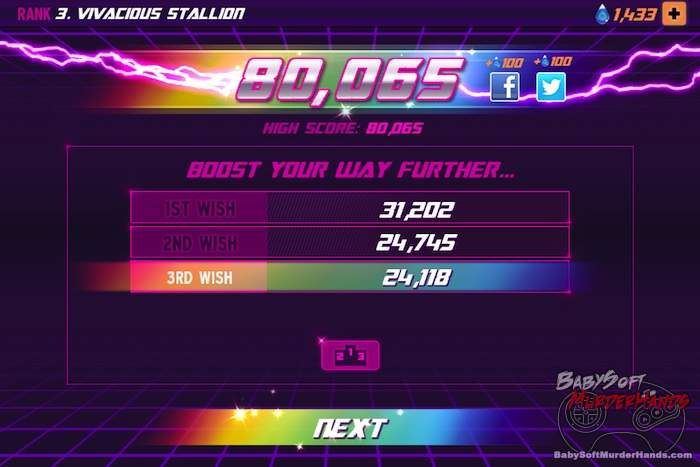 Rainbow Unicorn Attack 2 review screenshot 4