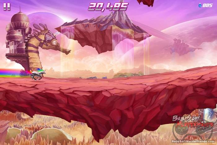 Rainbow Unicorn Attack 2 review screenshot 5