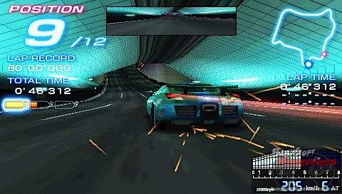 Ridger Racer PSP Screenshot