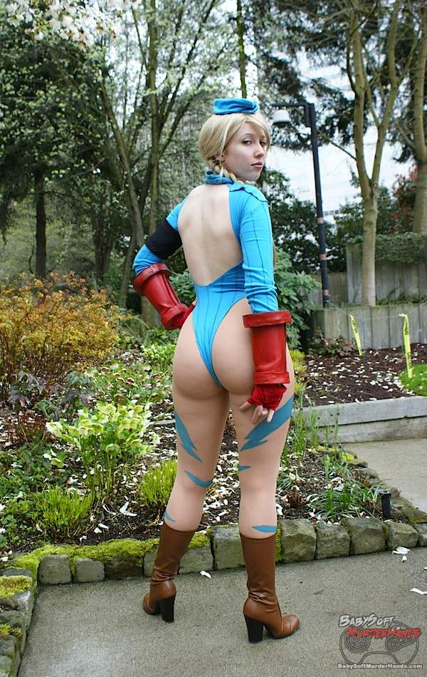 Sexy Cammy Cosplay Street Fighter