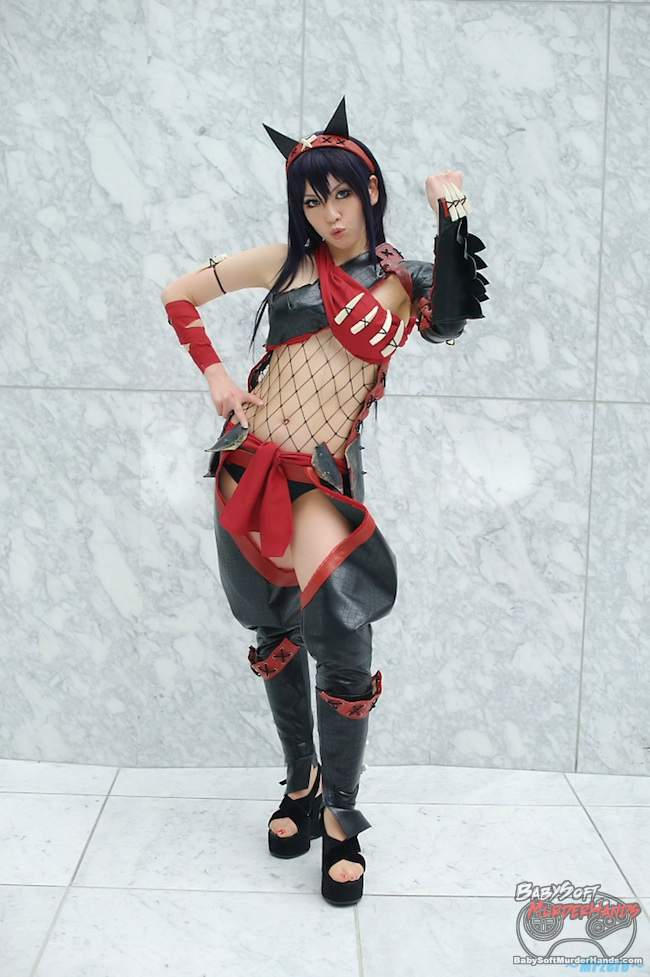 Sexy Monster Hunter Cosplay Nargacuga Armor Narga X 2
