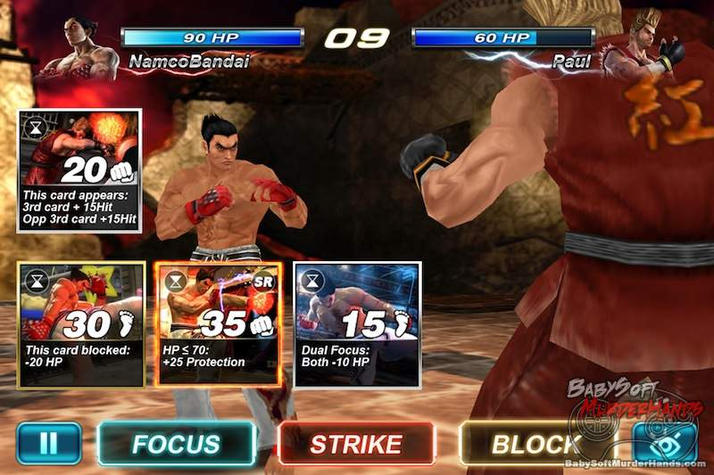 Tekken Card Tournament screenshot 1