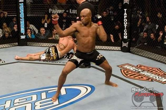 anderson silva tekken moves victory mma ufc champion