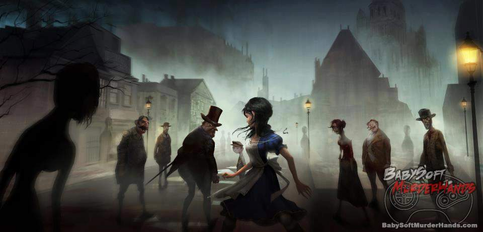 American McGees Alice 3 Otherlands concept art 1