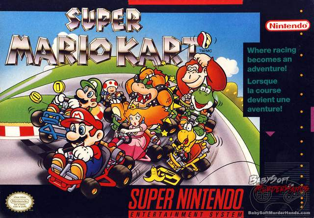 Cover Art Super Mario Kart SNES