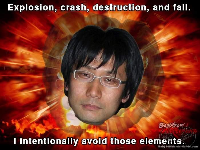 Kojima explosion trailer