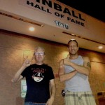 Pinball Hall of Fame LV Tim Arnold and Sal