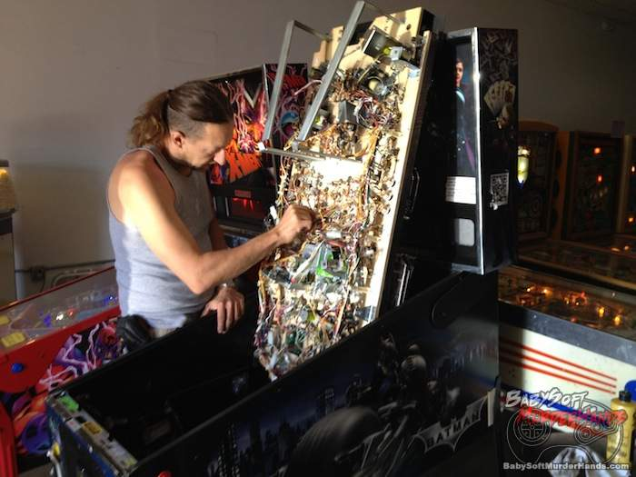 Pinball Hall of Fame LV repairs